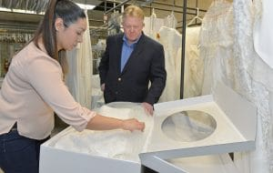 Wedding Dress Preservation Requires Professional Care And Handling By Drycleaners Who Specialize In The Delicate Fabrics Beading Lace