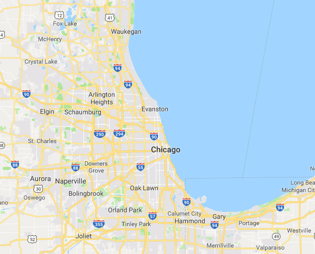 Chicago Wedding Dress Cleaners Service Area